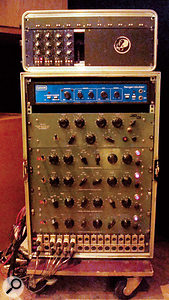 Pultec and API EQs figure prominently in the gear list...