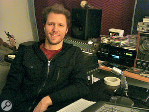 Justin Gerrish, who mixed 'Cousins', at Avatar Studios in New York.