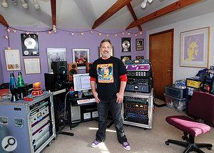 Ross Hogarth in his BoogieMotel studio.