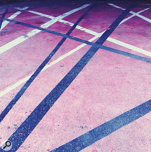 Van Halen: so big in LA, they even have their own pavement...