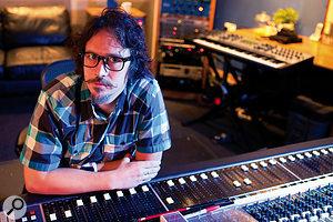 Craig Silvey at The Garden studio.