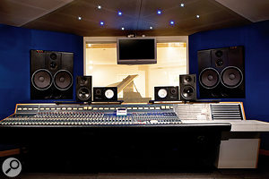 The Garden is based around a vintage Neve 8026 desk.