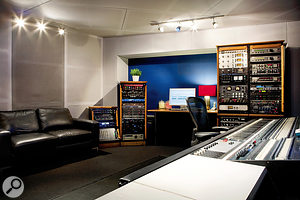 Most of Craig Silvey's sound shaping is done using the outboard gear he's collected over many years.