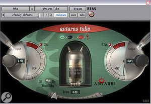 Antares' Auto‑Tune was used in its intended manner rather than as an effect, while the so‑called 'Wha' vocal was dirtied up with the same company's Tube plug‑in.