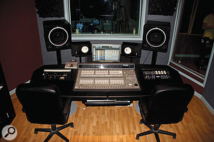 The Brewery is based around Pro Tools hardware, including a C24 control surface.