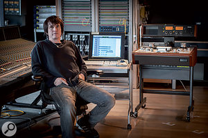 Dave 'Rave' Ogilvie at The Warehouse in Vancouver, where 'Call Me Maybe' was mixed.