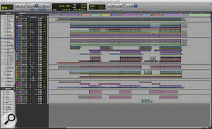 The Pro Tools Session from Tom Elmhirst's original mix of 'Rolling In The Deep'.