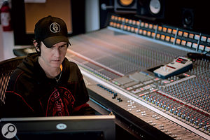 Like many top mix engineers, Dave Ogilvie prefers to work on alarge-format analogue console where possible — provided it's in good working order!