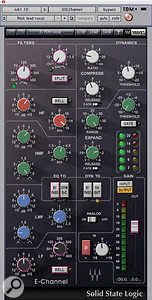 Paul David Hager used Waves' SSL Channel to brighten up and compress Nick Jonas' lead vocal.