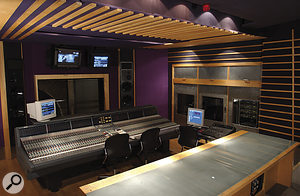 Tom Elmhirst's favoured mix room is Studio C at Metropolis in West London.