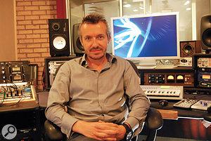 Fraser T Smith in his London studio.