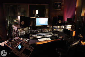Smith's MyAudioTonic Studio is based around Pro Tools, but with a32‑channel Chandler summing mixer and ahealthy selection of outboard.