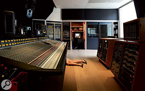 Randy Staub mixed the Evanescence album on the SSL 4072 in Warehouse Studio 1.