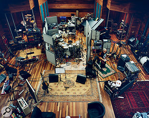 U2 took up residence at Olympic Studios, London, during the late stages of the making of No Line On The Horizon.