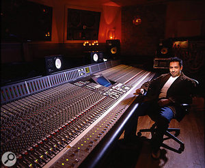 Manny Marroquin's room at Larrabee Studios has an SSL K–series desk as its centrepiece.