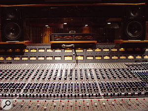 <em>Icky Thump</em> was mixed on Blackbird's Neve 8078.