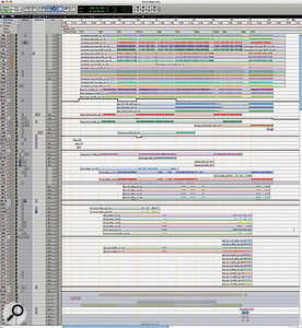 This composite screen grab shows the Edit Window for 'This Ain't A Scene, It's An Arms Race'.