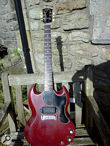 Colin Orr's 1962 Gibson SG Junior was his only guitar when the original album was made, and still served well when he needed to re-record one of the tracks.