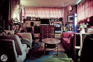 A comfy lounge is crucial to the success of any studio!