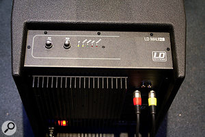 The LD Maui 28's controls and DSP are contained in the sub, and it's all very easy to use.