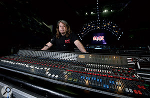 Mixing live for AC/DC is quite a different prospect to mixing Paul McCartney. The emphasis is on a solid, powerful sound, and this ageing  Midas Pro 40 desk fits the bill.