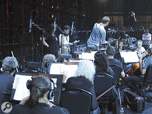 Schoeps CMC5 microphones with MK4 cardioid capsules were used throughout the string section.