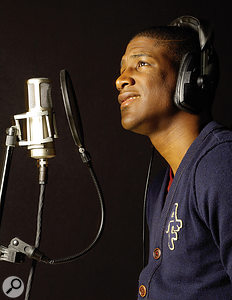 Labrinth often makes vocal contributions to his own productions, and his mic of choice is the Brauner Valvet.
