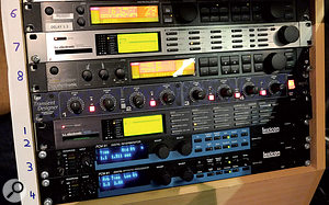 Mike Felton and Tudor Davies rely on arelatively small selection of external hardware effects units.