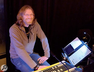 Although the main audience for Later is at the other end of the TV transmission, much of its live atmosphere comes from the presence of astudio audience. Gafyn Owen's job is to ensure that the complex house PA system delivers good sound throughout the large studio, without compromising the broadcast sound.