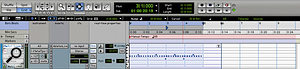 Recording your MIDI data in Pro Tools, instead of Live, keeps your arrangement in one place.