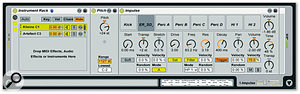 Combining multiple <em>Impulses</em> into a Rack lets you create patches with many more sounds.
