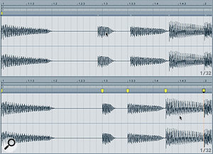 Ableton Live: Warping Revisited