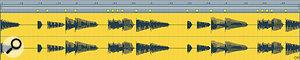A quantised audioclip.