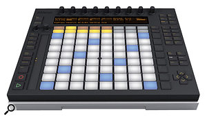 4: Designed for composition and performance, the Ableton-designed Pushcontrol surface from Akai combines clip launching, device control, drum pads and aclever keyboard simulation for performance and step-sequencing.
