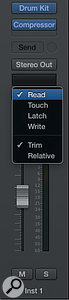 Trim and Relative trim automation modes have been added.