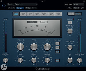 One of the new-look Compressor skins.