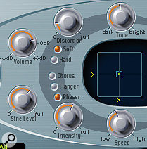 ES2's built-in effects will help us to start thickening up the sound of our dubstep bass.