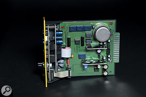 The sparse appearance masks the digital sophistication and discrete analogue electronics of the Saturamp.