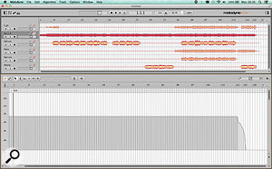 Bang! and the tempo variation is gone... By selecting all areas of the tempo map up until the final rit and choosing 'Make Constant Tempo', I've made my recording sound as though it had been performed to a  click — but by human beings.