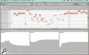 The Synth Editor provides some truly mind–expanding tools for retrospectively altering the spectral, formant and amplitude variations in recorded sound.