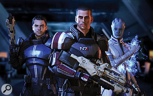Mass Effect 3's sumptuous graphics combine with the lavish orchestration to create aconvincing cinematic feel.