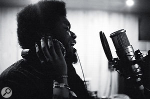 Some of Michael Kiwanuka's vocal parts on the album were recorded in asingle take, and in keeping with the organic ethos, comping and processing was kept to aminimum.