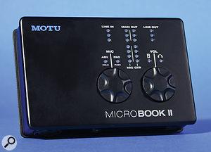 MOTU MicroBook II