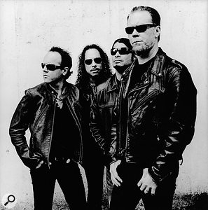 The dark quality of Metallica's music has always been tempered by their light‑hearted public image.