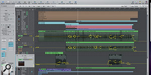 Paul used level automation on various guitar parts, for example to add an accent to some 'chugging' guitar chords, just to help them interplay better with the vocal at those points in the song. The devil of so many mixes is in these sorts of details.
