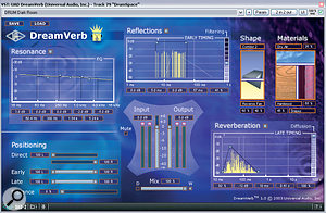 Three reverbs were used for this mix: Universal Audio Dreamverb and Plate 140, and Smartelectronix Ambience.