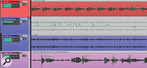Although some compression was used on individual channels, particularly on the bass and woodwind parts, the majority of the detailed balancing work for these mixes was carried out using level automation, as you can see in this screenshot, for instance.