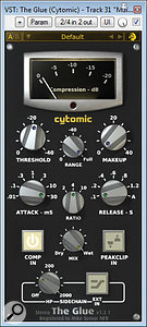 A selection of different master–bus processors was used for the different Spektakulatius mixes, including: Cytomic's The Glue for (typically quite gentle) compression; Variety Of Sound's Baxter EQ for upper–spectrum 'air' EQ boost; Softube's Tube–Tech CL1B and Summit TLA100A hardware emulations for valve 'thickening'; and Tonebooster's TB_Ferox tape emulator for high–frequency smoothing.