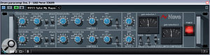 The attack characteristic of the Universal Audio Neve 33609 emulation Alex had used for aparallel compression effect on his drum sound was unpleasantly sharpening the drum and cymbal transients, so Mike followed this up with afirm transient-reduction patch from Cubase's Envelope Shaper plug-in.