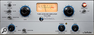 Although Softube's emulation of Summit's TLA100A compressor did afine job of controlling the bass levels in general, it responded alittle bit unpredictably until some low-end inconsistency on the recording had been ironed out with Reaper's ReaXcomp multi-band processor.